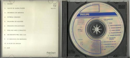 cd elba ramalho - fruto - 1988 - série colecionador - raro