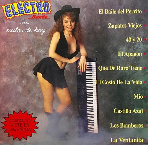 cd electro banda con exitos de hoy