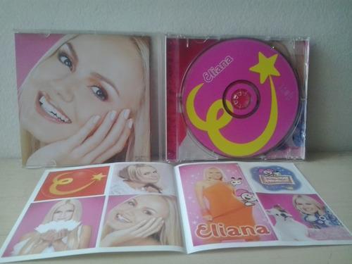 cd eliana 2001 c/ cartela de adesivos - prat. novo envio 9,0