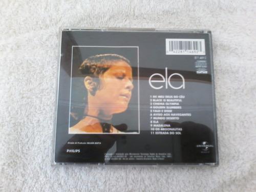 cd elis regina ela,1971 com encarte semi novo.