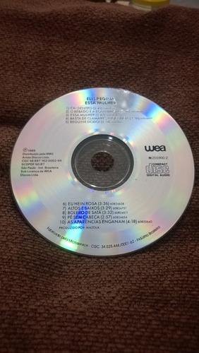 cd elis regina  ---  essa mulher   1989    (frete grátis)