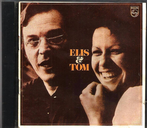 cd elis & tom 1977 1ª ed. em cd 1988