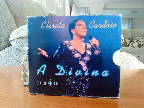 cd elisete cardoso - a divina - 4 cds