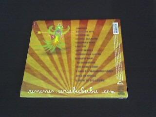 cd elizabeth  woolley  urubububu  - original - capa digipack