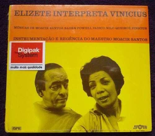 cd elizete interpreta vinicius (lacrado)