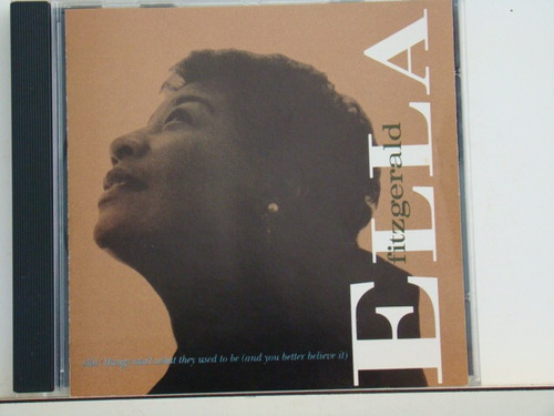 cd - ella fitzgerald-ella/things ain't what they used to be