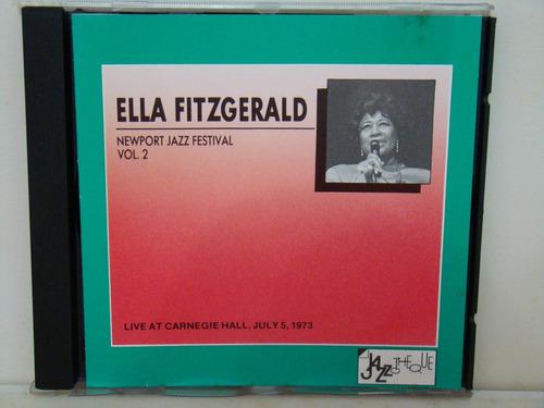 cd ella fitzgerald - live at carnegie hall (importado)
