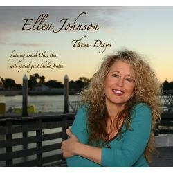 cd ellen johnson - these days (autografado pela cantora! )