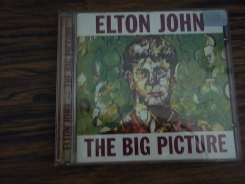 cd elton john - the big picture