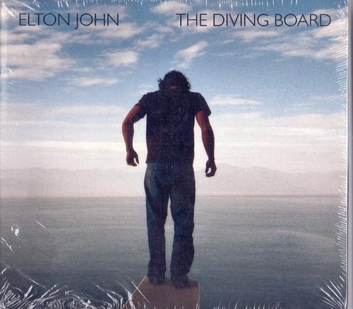 cd elton john - the diving board - digipack - novo lacrado**