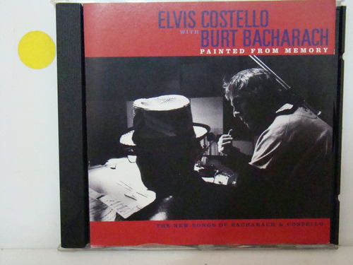 cd - elvis costello & burt bacharach - painted from memory