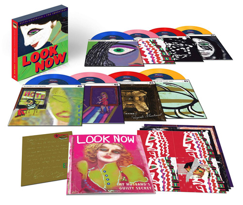 cd : elvis costello & the imposters - look now (boxed set)