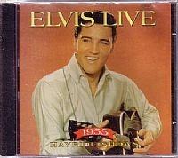 cd elvis presley - 1955 hayride shows (usado/otimo)