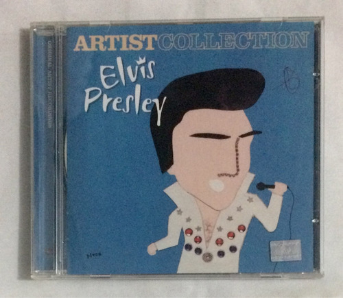 cd elvis presley artist collection (jbn)
