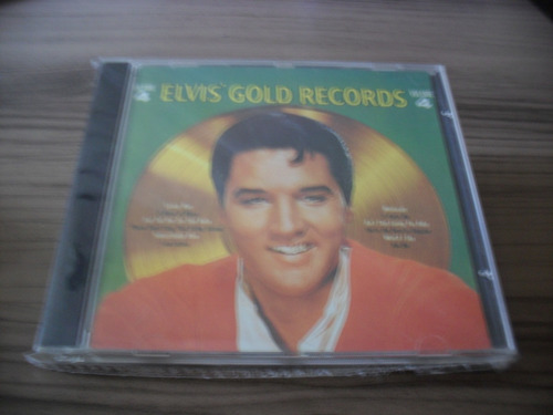 cd elvis presley gold records vol 4 produto lacrado