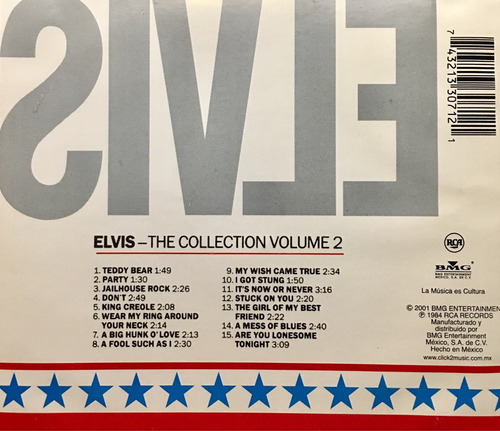 cd elvis presley the collection vol 2