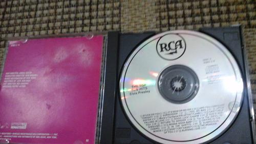 cd-elvis presley-top ten hits-importado