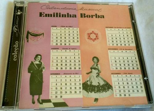 cd emilinha borba (calendário musical) hbs