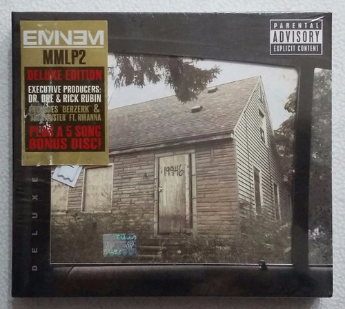 cd eminem the marshall mathers lp 2 delux 2cds nuevo sellado