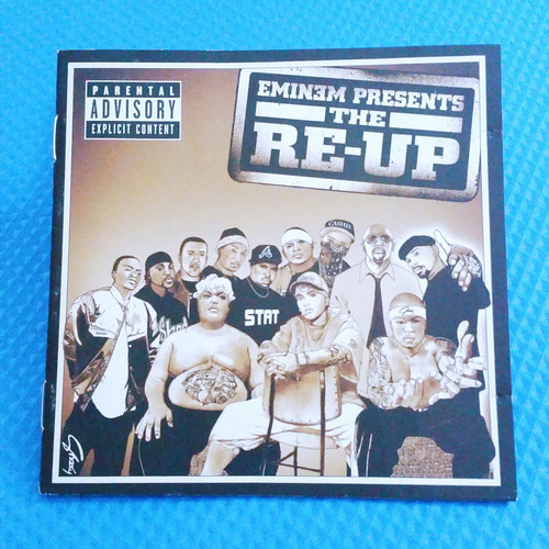 cd eminem - the re-up