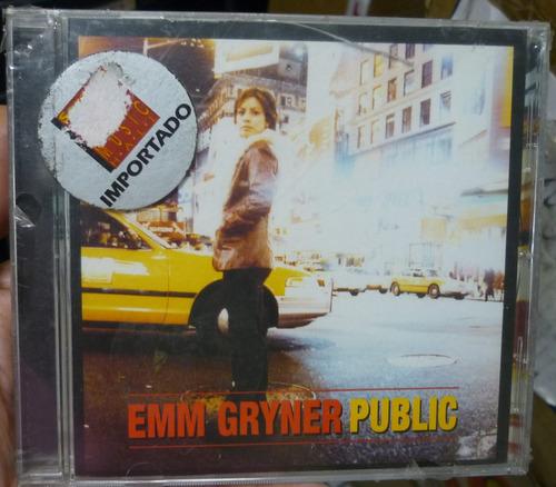 cd emm gryner / public - import novo e lacrado - b316