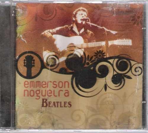 cd  emmerson nogueira   /  beatles    - b304