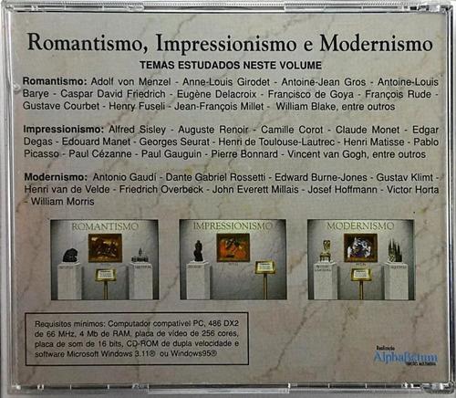 cd enciclopédia multimídia da arte universal 8 romantismo