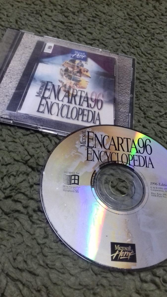 Cd - Encyclopedia Encarta 96