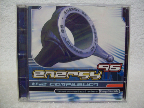 cd energy 96- the compilation- cd importado