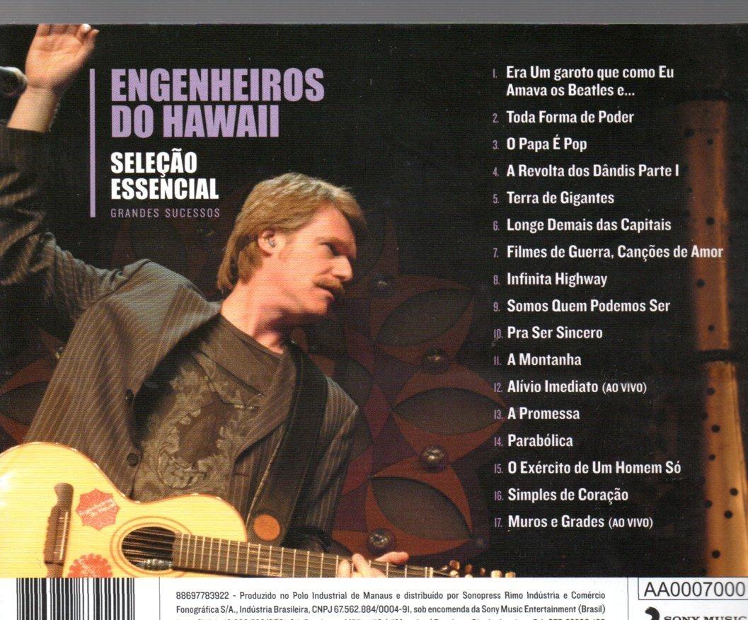 cd engenheiros do hawaii essencial