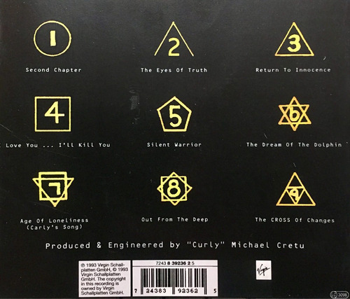 cd enigma 2 the cross of changes