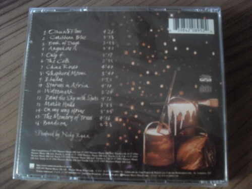 cd enya the best of produto lacrado