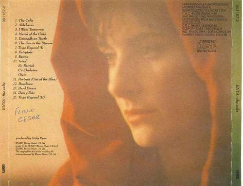 cd enya - the celts