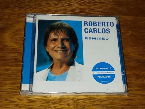 cd ep roberto carlos remixed - novo lacrado