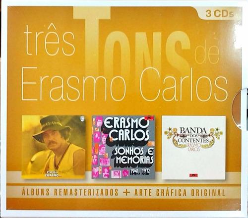 cd erasmo carlos - três tons (2013) lacrado
