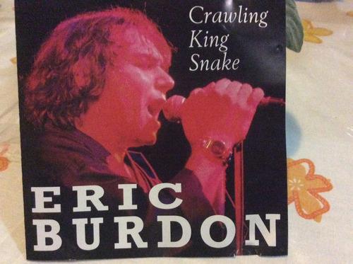 cd eric burdon crawling king snake importado de colección