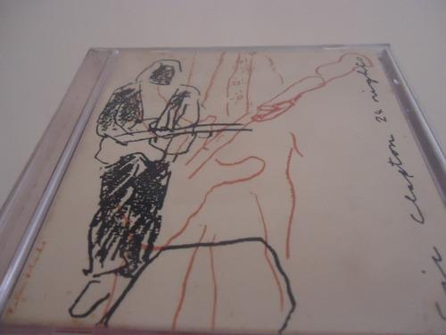 cd - eric clapton - 24 nights - duplo