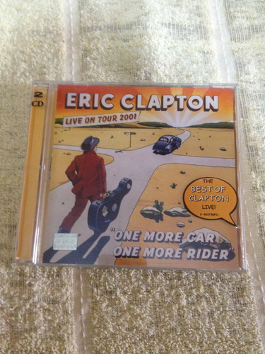 cd eric clapton cd edición mexicana album doble