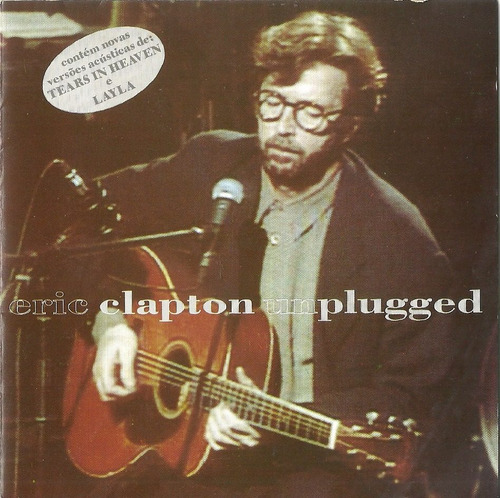 cd - eric clapton - unplugged - 1992