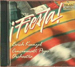 cd erich kunzel & orchestra - fiesta (usado-otimo)