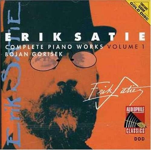 cd erik satie - complete piano works - volume 01 - gorisek
