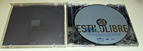 cd eros ramazzotti / estilo libre / importado
