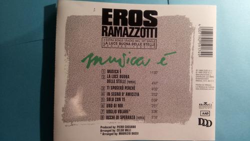 cd eros ramazzotti musica e -en italiano-mdd
