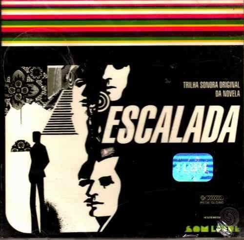 cd escalada - trilha sonora da novela