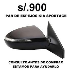 Cd Espejo Kia Sportage+seguro+instalacion+envio Gratis