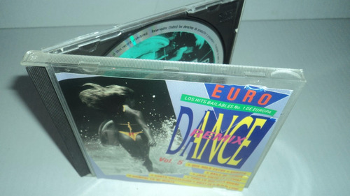 cd euro los hits bailables no.1 de europa dance remix vol.5
