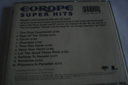 cd europe super hits