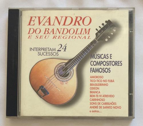 cd evandro do bandolim e seu regional (24 sucessos) hbs