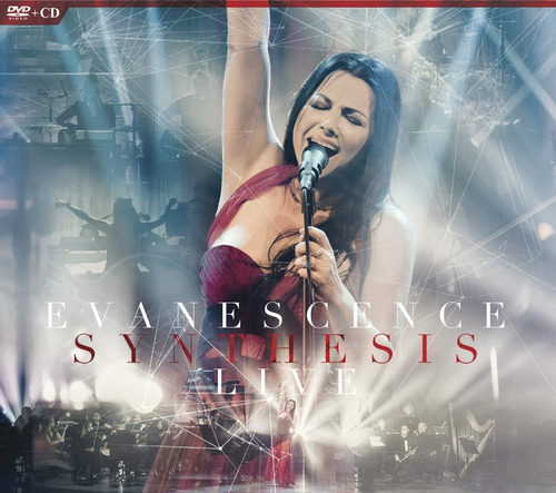 cd : evanescence - synthesis live (with dvd, digipack...
