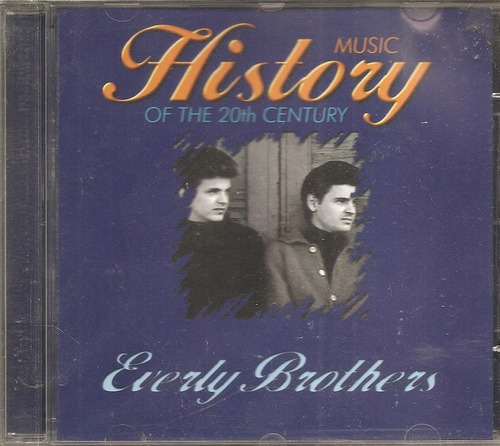 cd everly brothers - music history 20th - country rockabilly